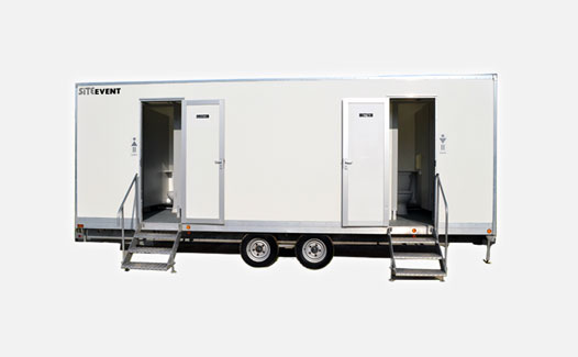 Event Toilet Trailer Hire standard