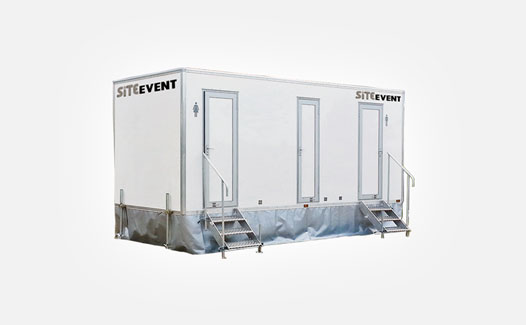 Luxury event toilet trailer hire