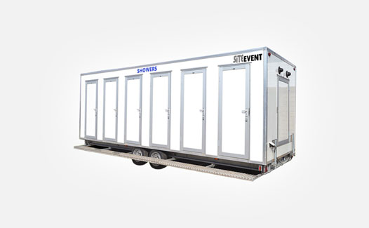 Mobile showers for events
